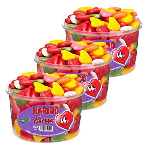 Haribo Ζελεδάκια Crunchy and Soft Hearts